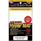 KMC Standard Sleeves - Hyper Mat Clear (80 Sleeves)