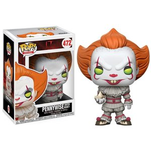 Funko POP! Pennywise with Boat Vinyl Figure 10cm