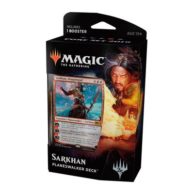 Magic the Gathering Core Set 2019 Planeswalker Deck: Sarkhan