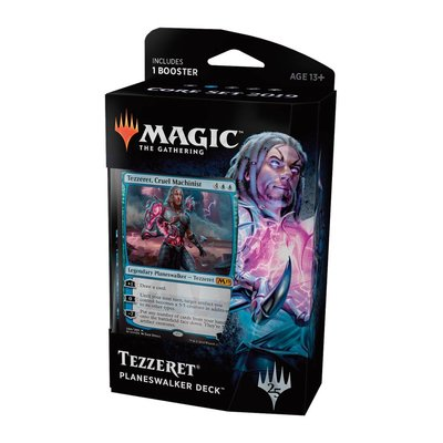 Magic the Gathering Core Set 2019 Planeswalker Deck: Tezzeret