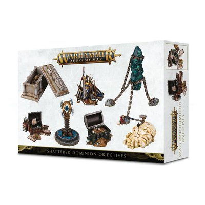 Games Workshop Warhammer Age of Sigmar Shattered Dominion Objectives