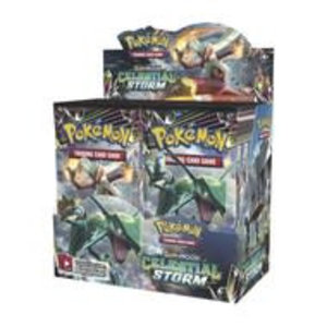 Pokemon TCG Sun and Moon 7: Celestial Storm - Booster Box