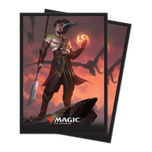Ultra Pro Core Set 2019 Standard Sleeves: Sarkhan, Fireblood (80 Sleeves)