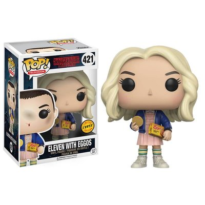 Funko POP! Stranger Things Eleven With Eggos (CHASE) Vinyl Figure 9 cm