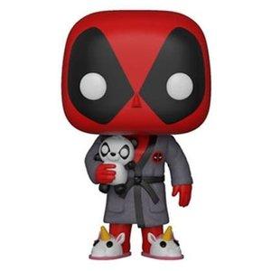 Funko POP! Deadpool Parody POP! Marvel Vinyl Figure Deadpool in Robe 9 cm