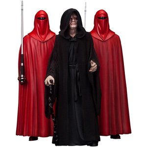 Kotobukiya Star Wars PVC Statue 3-Pack 1/10 Emperor Palpatine & The Royal Guards 18 cm