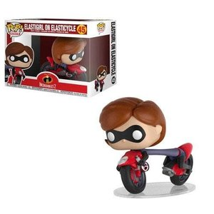 Funko POP! Incredibles 2 POP! Rides Vinyl Figure Elastigirl on Elasticycle 15 cm