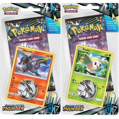 Pokemon TCG Lost Thunder Promo Blister Pakket