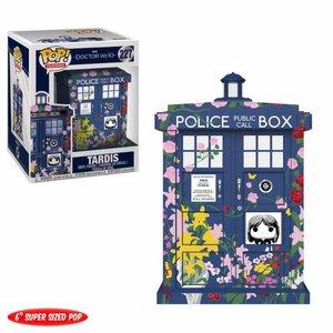 Funko POP! Doctor Who Oversized POP! TV Vinyl Figure Clara's Memorial Tardis 15 cm