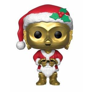 Funko POP! Star Wars POP! Vinyl Bobble-Head Holiday Santa C-3PO 9 cm