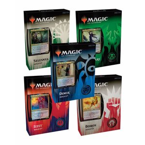 Magic the Gathering Set van 5 Guilds of Ravnica Guild Kits