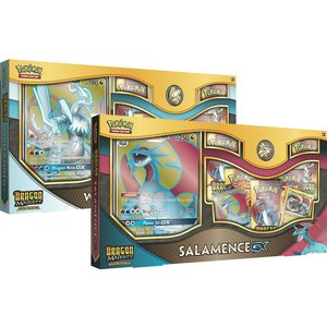 Pokemon TCG Set van 2 Dragon Majesty Special Collection (Salamence-GX/White Kyurem-GX)