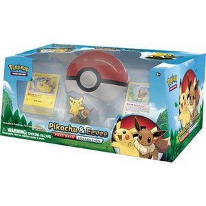 Pokemon TCG Pikachu & Eevee Poké Ball Collection
