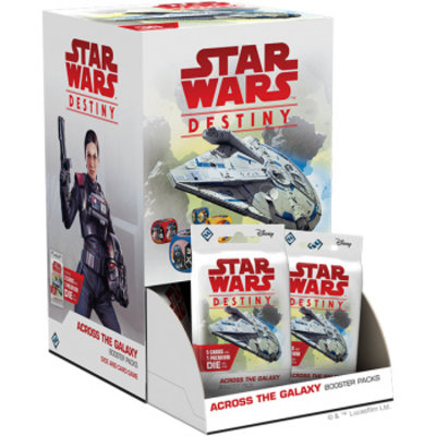 Star Wars Destiny Star Wars Destiny: Across the Galaxy Booster Box