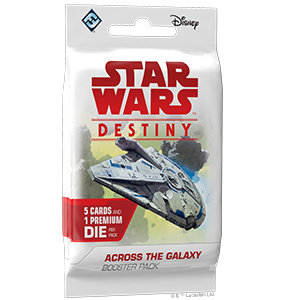 Star Wars Destiny Star Wars Destiny: Across the Galaxy Booster Pack