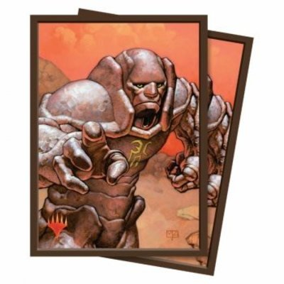 Ultra Pro Standard Deck Protector - Magic the Gathering Karn, Silver Golem (100 Sleeves)