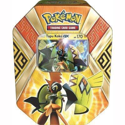 Pokemon TCG Tapu Koko-GX Island Guardians Tin
