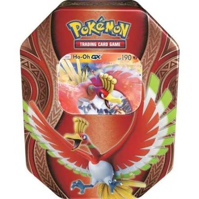 Pokemon TCG Ho-oh GX - Mysterious Powers Tins
