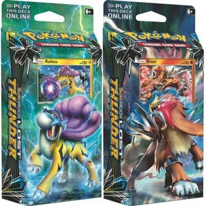 Pokemon TCG Set Lost Thunder Theme Decks