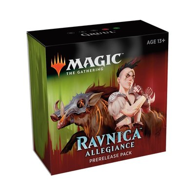 Magic the Gathering Ravnica Allegiance Prerelease Ticket 11:00 Zondag: Gruul