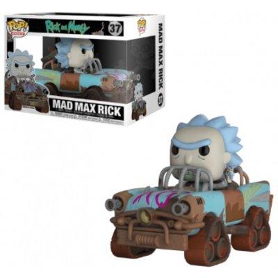 Funko POP! Rides: Rick and Morty - Mad Max Rick Vinyl Figure 12cm