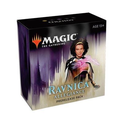 Magic the Gathering Ravnica Allegiance Prerelease Ticket 17:45 Zaterdag: Orzhov