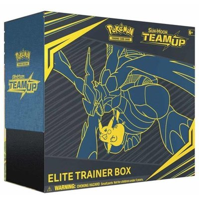 Pokemon TCG Sun and Moon 9: Team Up Elite Trainer Box