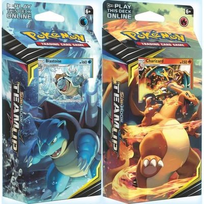 Pokemon TCG SET van 2 Sun and Moon 9: Team Up Theme Decks