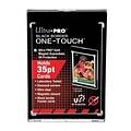 Ultra Pro 35PT Black Border UV One-Touch Magnetic Holder