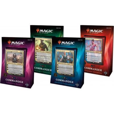 Magic the Gathering SET Commander Decks 2018