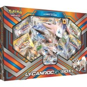 Pokemon TCG Lycanroc-GX Box