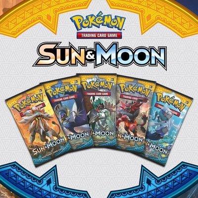 Pokemon TCG SET Sun & Moon Checklane Promo Blisters