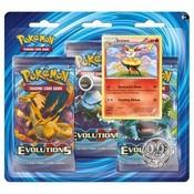 Pokemon TCG Braixen Evolutions XY12 3-Booster Blister