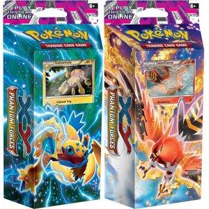 Pokemon TCG SET Phantom Forces XY4 ''Burning Winds'' & ''Bolt Twister'' Theme Decks