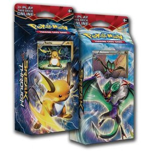 Pokemon TCG SET BREAKthrough XY8 ''Burning Spark'' & ''Night Striker'' Theme Decks