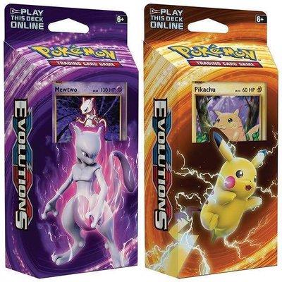 Pokemon TCG SET van 2 Pokemon Evolutions XY12 Theme Decks