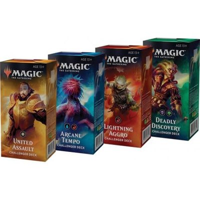 Magic the Gathering Set van 4 2019 Challenger Decks