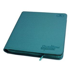 Ultimate Guard 12-Pocket QuadRow ZipFolio XenoSkin Petrol Blue