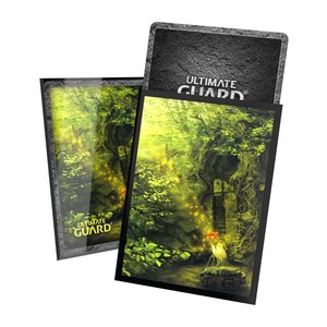 Ultimate Guard Printed Sleeves Standard Size Lands Edition II Forest (100)