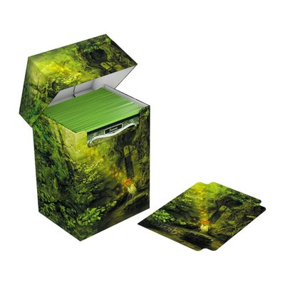 Ultimate Guard Basic Deck Case 80+ Standard Size Lands Edition II Forest