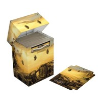 Ultimate Guard Basic Deck Case 80+ Standard Size Lands Edition II Plains