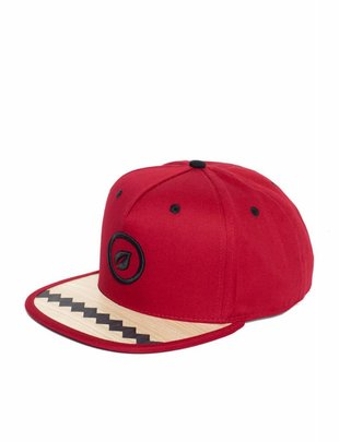 Recreate Leaf Snapback - Red ZigZag