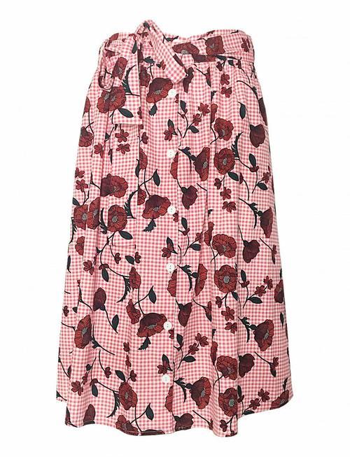Blackfish pink plaid flower skirt blackfish pink plaid flower skirt mightylinksfo