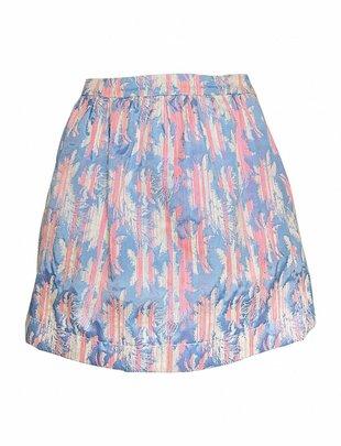 Miami Pastel Palmtree Skirt