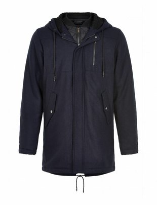 Anerkjendt Luke Double Coat Blue