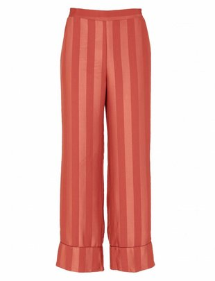 Grace & Mila Ranya Striped Pantalon Rosé