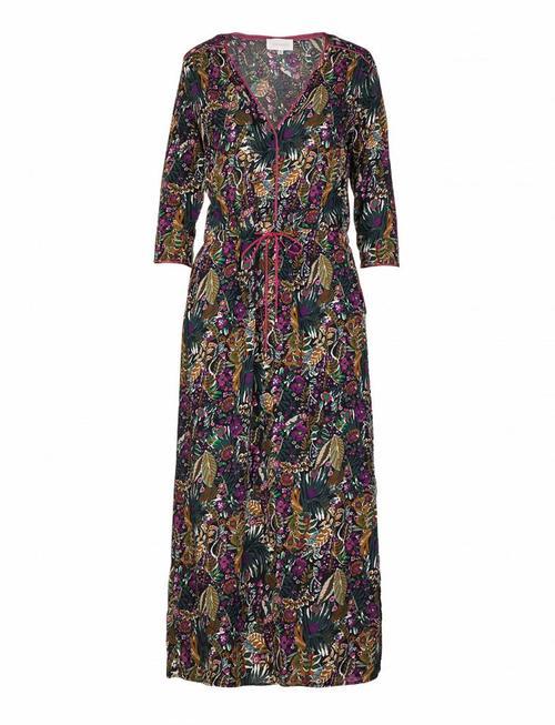 Grace & Mila Renard Violet Flower Dress