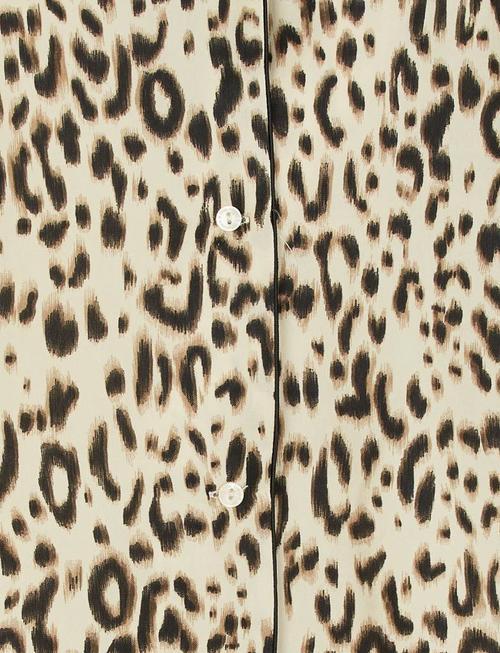 Grace & Mila Reptile Leopard Blouse