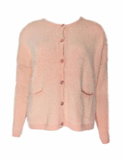 Grace & Mila Ramon Pink Fluff Sweater
