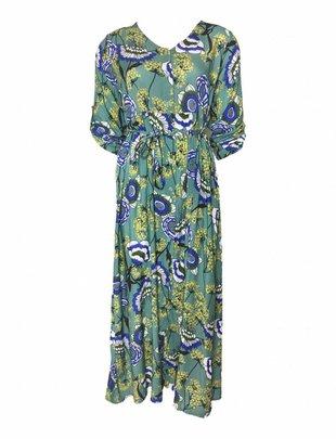 Teal Garden Dress